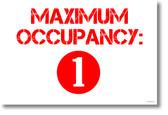 Maximum Occupancy - NEW POSTER