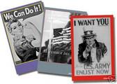3 Poster Set - Vintage World War II Era Posters