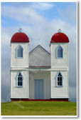Ratana Church Near Raetihi New Zealand World Travel Poster (tr466)