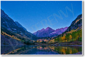 Maroon Bells Maroon Lake Colorado NEW World U.S. National Park Travel Mountains Poster (tr464)