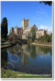 Wells Cathedral Church Somerset England UK United Kingdom NEW World Travel Poster (tr463)