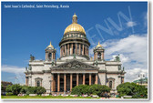 Saint Isaacs Cathedral Saint Petersburg Russia - NEW World Travel Poster