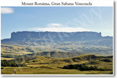 Mount Roraima Gran Sabana Venezuela - NEW World Travel Poster
