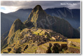 Machu Picchu NEW World Travel Poster Andes Mountains (tr450)