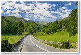 Countryside Lake District England - NEW World Travel Poster