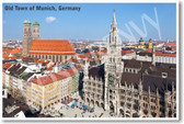 Old Town Munich Germany - NEW World Travel Poster