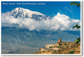 Mount Ararat - Khor Virap Monastary Armenia - NEW World Travel Poster