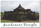 Temple of Sambisari Temple in Kalasan Yogyakarta - NEW World Travel Poster