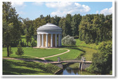 Temple of Friendship in Pavlovsk Park  - NEW World Travel Poster