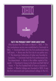 Ohio - NEW U.S Travel Poster