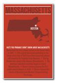 Massachusetts - NEW U.S Travel Poster
