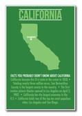 California - NEW U.S Travel Poster