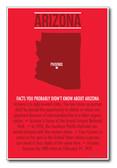 Arizona - NEW U.S Travel Poster