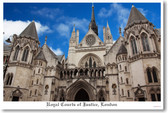 Royal Courts of Justice London England