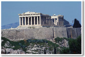 Ancient Greek Temple Ruins - Close Up