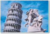 Leaning Tower of Pisa & Statue