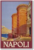 Napoli Italy Vintage Travel Poster