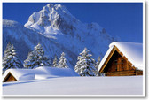 Cabins in the Snowy Mountains