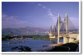 Cable Bridges Hong Kong China