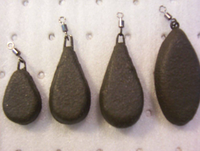 Swiveled Flat Pear Lead