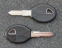 1982-1993 Nissan Axxes, NX & Stanza Key Blanks
