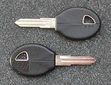 1982-1993 Nissan Axxes, NX & Stanza Key Blanks