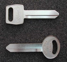1967-1973 Mercury Monterey Key Blanks