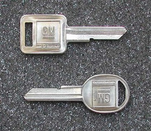 1969, 1973, 1977, 1981 Chevrolet Corvette Key Blanks
