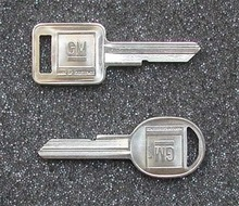 1977, 1981 Chevrolet Malibu Key Blanks