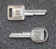 1968, 1972, 1976, 1980, 1987 Chevrolet El Camino Key Blanks