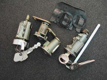 1971-1972 Ford Pinto Ignition, Door and Trunk Locks