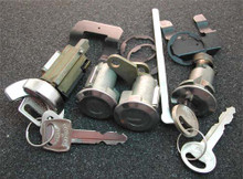 1970-1972 Ford Mustang Ignition, Door and Trunk Locks