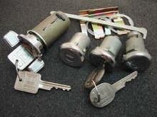 1971-1973 Pontiac Ventura Ignition, Door and Trunk Locks