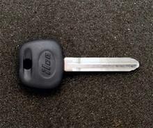 2003-2009 Toyota 4 Runner Transponder Key Blank
