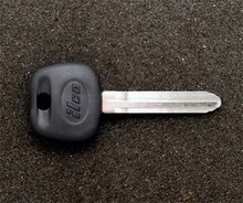2005-2007 Toyota Celica Coupe Transponder Key Blank