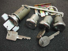 1969 Chevrolet Nova Ignition, Door and Trunk Locks