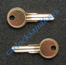 Replacement Key Blanks for a Harley Davidson Helmet Lock (part #45732-86)