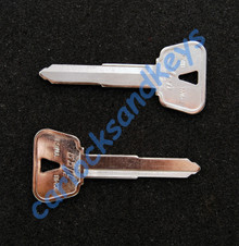 2011 - 2013 Yamaha FZ8 Key Blanks
