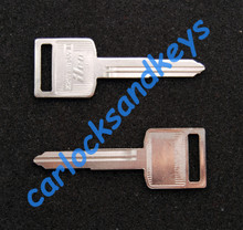 1989 - 2009 Suzuki GS500 Key Blanks