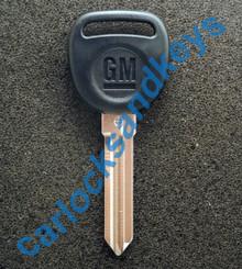 2007-2014 GMC Sierra PK3 Or Circle Plus + Transponder Key Blank