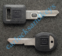 1995-1996 OEM Chevrolet Caprice VATS & Secondary 'H' Key Blanks