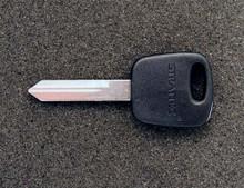 1997-1998 Lincoln Mark VIII Transponder Key Blank