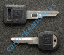 1990 OEM Cadillac Deville VATS & Secondary 'D' Key Blanks