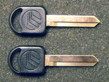 1994-1996 Mercury Cougar Mercury Logo Key Blanks
