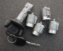 1999-2004 GMC Full Size Van Ignition and Door Locks Complete Set