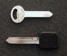 1984-1994 Mercury Topaz Key Blanks