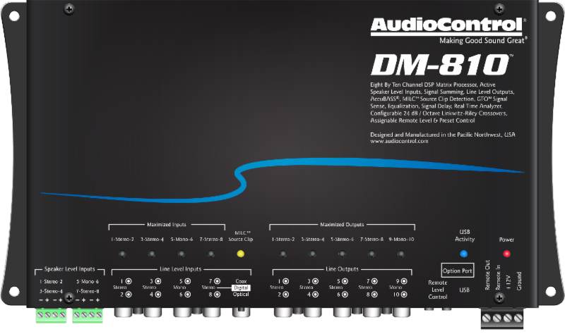 AudioControl Announces New DSP Matrix-Processors & Full