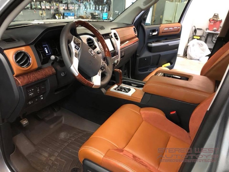 Omaha Client Gets Toyota Tundra Audio System Upgrade
