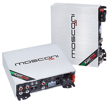 MOSCONI D2 100.4 DSP - mini 4 channel class D amplifier: 4X100W with built in 4T06-SP-DIF DSP