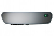 50-GENK85A Gentex Auto-Dimming Frameless Rearview Mirror w/ Compass & HomeLink V5